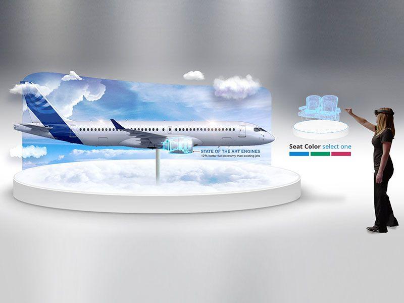 virtual reality plane