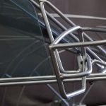 wireframe car side mirror