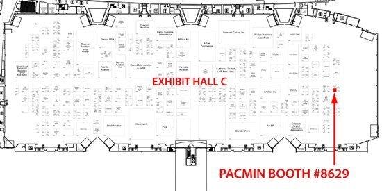 floor plan of NBAA 2010
