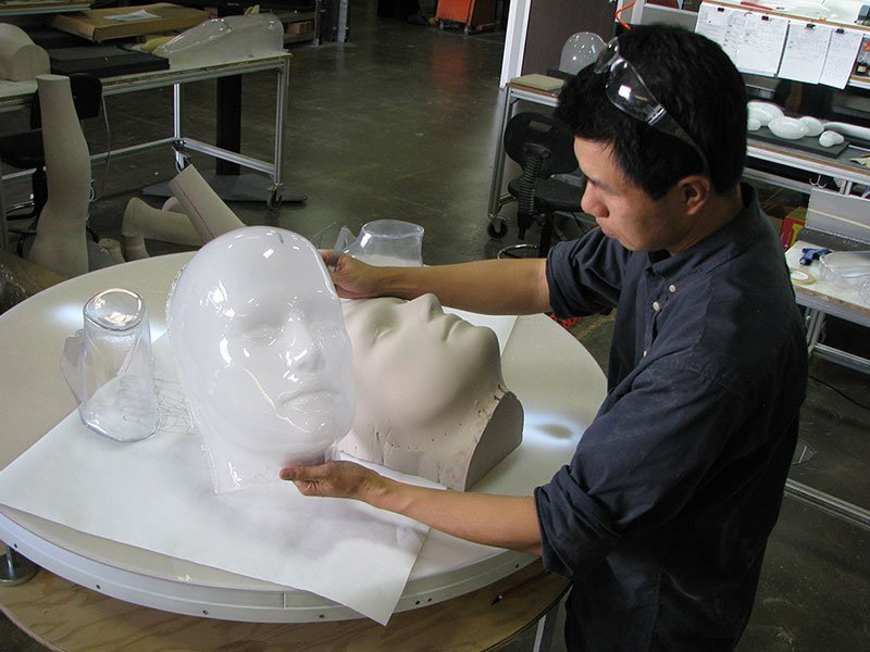 Goutman 6 - removing head from mold